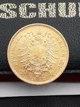 20 марок 1872. Пруссия. Золото., фото №2