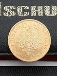 20 марок 1889. Пруссия. Золото., фото №2