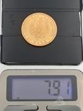 20 марок 1875. Пруссия. Золото., фото №3