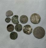 Срібні монети 10шт., фото №2