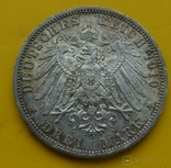 3 марки, Пруссия, 1910г, фото №7