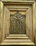 Икона Святых бронза, фото №3