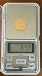 20 франков. 1892. Тунис (золото 900, вес 6,43 г), фото №7