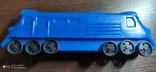 Игрушка поезд, тепловоз, локомотив дутый дутыш, фото №8