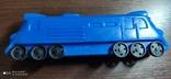 Игрушка поезд, тепловоз, локомотив дутый дутыш, фото №9