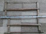 Столярний інструмент лучковая пилка, фото №3