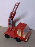Машинка Пожарная СССР с выдвижной лестницей (3 секции), фото №3