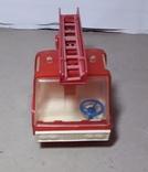 Машинка Пожарная СССР с выдвижной лестницей (3 секции), фото №5