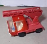 Машинка Пожарная СССР с выдвижной лестницей (3 секции), фото №6