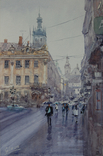 "Картина ""Львов, дождь"". Микитенко Виктор, фото №2"