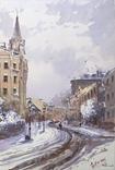 """Картина """"Киев, зима"""". Микитенко Виктор, фото №2"""