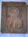 Ікона из гипса времен СССР, фото №4