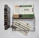Аудиокассета TDK AR 46 (Jap 1988), фото №4
