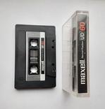 Аудиокассета Maxell UD 60 (Jap), фото №4