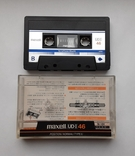 Аудиокассета Maxell UDI 46 (Jap), фото №3