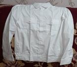Рубашка военная белая, фото №3