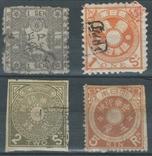 З11 Япония 1872-1883, налоговые марки, фото №2