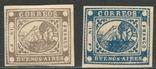 И04 Аргентина (Буэнос-Айрес) 1858, новоделы 1893 г., фото №2