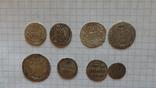 8 серебренных монет. Копии., фото №2