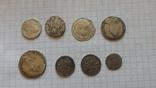 8 серебренных монет. Копии., фото №4