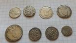 8 серебренных монет. Копии., фото №5