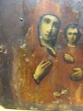 Икона Пр.Богородицы (10.5х13), фото №5