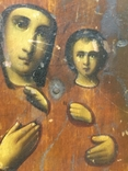 Икона Пр.Богородицы (10.5х13), фото №9