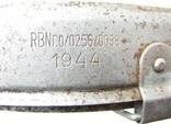3 рейх амартизационный подшлемник каски М40 М42 размер 64n А57 RBN номер 1944 год., фото №9