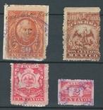 Е06 Мексика 1889-1897, налоговые марки, фото №2