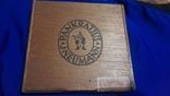 Коробка от сигарилл Вермахта с акцизкой, фото №2