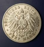 5 марок 1908 р. Саксонія. Фрідріх Август, фото №6