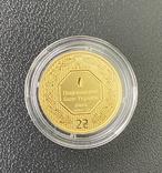 2 гривні Архістратиг Михаїл золото 2020 р. 3,11 грамм.Новий дизайн.Тираж 2000 шт, фото №2