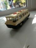Модель игрушка Автобус Салют ГАЗ (ЗИЛ) 118 Юность 60е годы, фото №7