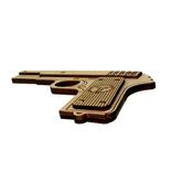Сувенирный деревянный пистолет ТТ, фото №4