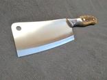 Большой кухонный Топор Секач Тесак Нож Топорик, фото №4