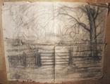 Большая работа А. Сафаргалина (150х120 см.), фото №2