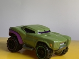 Hot Wheels Marvel Series, Green Hulk Car BDM76 2013 Pre-owned Excellent Mattel, фото №2
