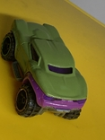 Hot Wheels Marvel Series, Green Hulk Car BDM76 2013 Pre-owned Excellent Mattel, фото №7
