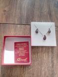 Набор серебряный с сертификатом., фото №11