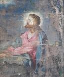 Икона на Холсте 80 см х 61 см под Реставрацию, фото №3