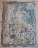 Икона на Холсте 80 см х 61 см под Реставрацию, фото №8