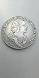 1 рубль 1725 год Петр 1 Крестовик ОК Копия тип 1, фото №2