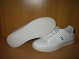 Мужские белые кроссовки run lifewear с перфорацией кеды на толстой подошве новые., фото №3