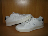 Мужские белые кроссовки run lifewear с перфорацией кеды на толстой подошве новые., фото №5