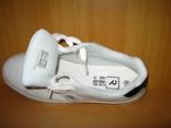 Мужские белые кроссовки run lifewear с перфорацией кеды на толстой подошве новые., фото №6