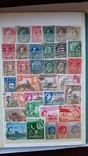 414 шт Королевские територии, марки с 1899 года-1960год, фото №8
