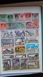 414 шт Королевские територии, марки с 1899 года-1960год, фото №10