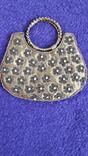 Декоративна сумочка з камінцями., фото №2