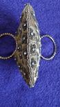 Декоративна сумочка з камінцями., фото №8