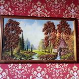 Картина с использованием натурального янтаря, фото №5